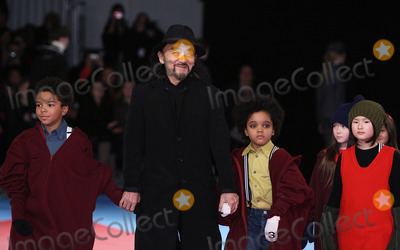 Yohji Yamamoto Photo - Designer Yohji Yamamoto pictured at the conclusion of the Y-3 fashion show at Pier 40 on February 15th, 2009 in New York City. Mercedes-Benz Fashion Week Fall 2009 Collection