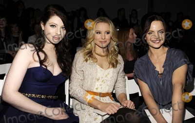 Kristen Bell, Mena Suvari, Michelle Trachtenberg, Rebecca Taylor Photo - (L-R) Actresses Michelle Trachtenberg, Kristen Bell and Mena Suvari attend the Rebecca Taylor Fall 2010 Fashion Show during Mercedes-Benz Fashion Week at The Salon at Bryant Park in New York, NY on February 14th, 2010. (Pictured: Michelle Trachtenberg; Kristen Bell; Mena Suvari)