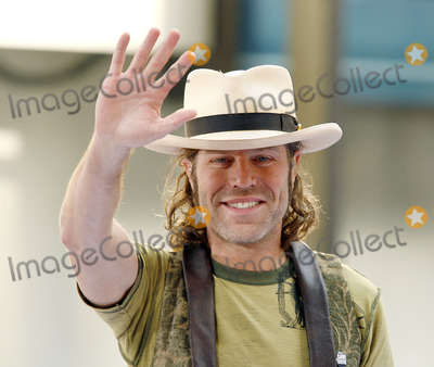 """Big and Rich, Big Kenny, Big Kenny Alphin, Kenny Alphin, """"Big Kenny"""" Alphin Photo - Big Kenny Alphin of the country duo Big And Rich onstage performing during The Today Show on July 8, 2006 in"""