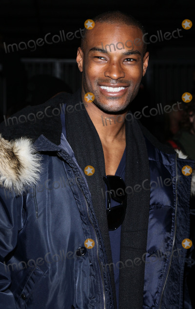 Tyson Beckford, Front Row Photo - Model Tyson Beckford pictured in the front row of the