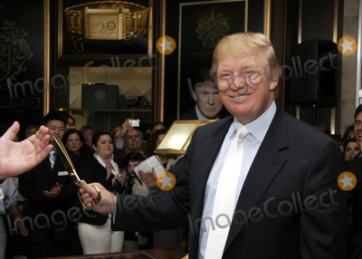 Photos and Pictures - Donald Trump launches his new watch ...