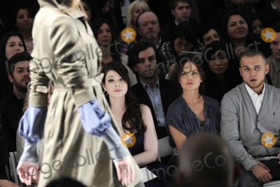 Mena Suvari, Michelle Trachtenberg, Rebecca Taylor Photo - (L-R) Actresses Michelle Trachtenberg and Mena Suvari with producer Sestito Simone pictured during the Rebecca Taylor Fall 2010 Fashion Show during Mercedes-Benz Fashion Week at The Salon at Bryant Park in New York, NY on February 14th, 2010. (Pictured: Michelle Trachtenberg; Mena Suvari; Sestito Simone)