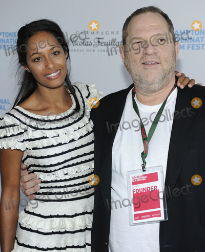Harvey Weinstein, Rula Jebreal Photo - Writer Rula Jebreal and Weinstein Company founder Harvey Weinstein (R) attend the Chairman's Reception during the 2010 Hamptons International Film Festival at HIFF chairman Stuart Match Suna's home in East Hampton, NY on October 9th, 2010. (Pictured: Rula Jebreal, Harvey Weinstein)
