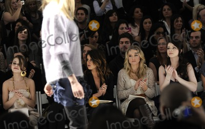 Alexis Dziena, Kristen Bell, Michelle Trachtenberg, Rebecca Taylor, Shenae Grimes Photo - (L-R) Actress Alexis Dziena, singer Shenae Grimes with actresses Kristen Bell and Michelle Trachtenberg pictured during the Rebecca Taylor Fall 2010 Fashion Show during Mercedes-Benz Fashion Week at The Salon at Bryant Park in New York, NY on February 14th, 2010. (Pictured: Alexis Dziena; Shenae Grimes; Kristen Bell; Michelle Trachtenberg)