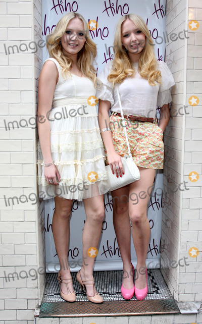 Nick Ede Photo - London, UK. Samantha Marchant and Amanda Marchant at the Nick Ede hosts tea party to launch new 'Lost and Found' jewellery range at Soho House, London. 26th May 2009.Keith Mayhew/Landmark Media