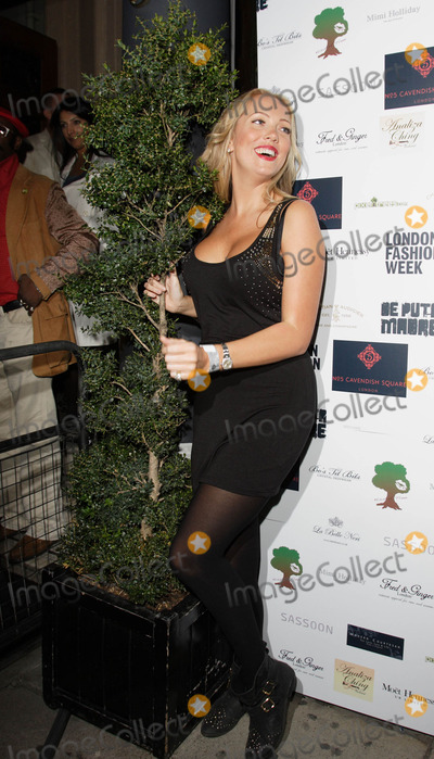 Aisleyne Horgan-Wallace, Aisleyne Horgan Wallace, Kiss Photo - London, UK. Aisleyne Horgan-Wallace at the 'Kiss-a-Tree Party' at No 5 Cavendish Square, London. 17th September 2009.