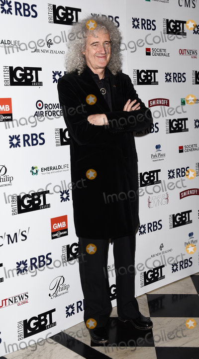 Brian May, Queen Photo - London, UK.  Brian May at The LGBT Awards held at The Connaught Rooms, Great Queen Street, London. 13th May 2016. Ref: LMK392-60515-140516Vivienne Vincent/Landmark Media. WWW.LMKMEDIA.COM.