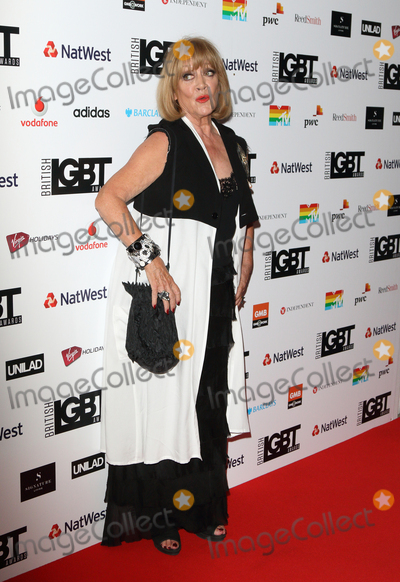 Amanda Barrie, Amanda Barry, Covent Garden Photo - London.UK. Amanda Barrie at the 