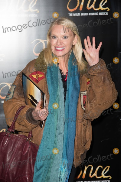 Anneka Rice, Ronan Keating Photo - London. UK. Anneka Rice at the 'Once' Press Night featuring Ronan Keating in the lead role of Guy at The Phoenix Theatre, London, England, UK on Tuesday 25th November, 2014.