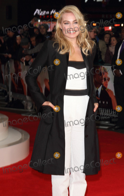 Margot Robbie, Leicester Square Photo - London, UK. Margot Robbie at 'Focus' Special Screening at the Vue West End, Leicester Square, London on February 11th 2015Ref: LMK73-50582-120215Keith Mayhew/Landmark Media. WWW.LMKMEDIA.COM