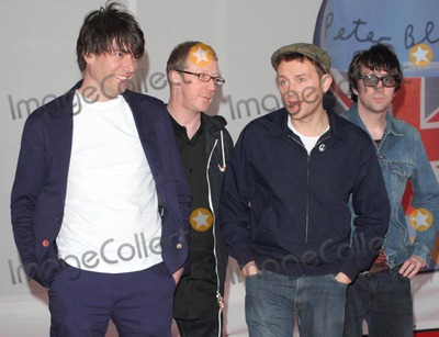 Blur Photo - London, UK. Blur at the Brit Awards 2012 Red Carpet Arrivals at the O2 Arena. 21st February 2012.Keith Mayhew/Landmark Media