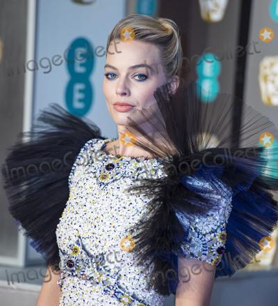 Margot Robbie Photo - London, UK. Margot Robbie   at EE British Academy Film Awards at the Royal Albert Hall, Kensington, London on Sunday February 10th 2019Ref: LMK386-S2120-110219Gary Mitchell/Landmark Media. WWW.LMKMEDIA.COM.