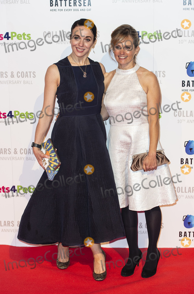 Amanda Abbington, Gary Mitchell Photo - London, UK. Freya North (R) and Amanda Abbington at the Battersea Dogs & Cats Home Collars & Coats Gala Ball 2018 at Battersea Evolution on November 01, 2018 in London, England