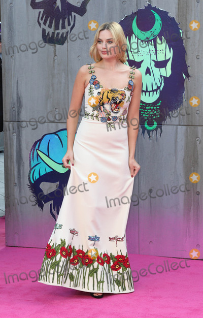 Margot Robbie Photo - London, UK. Margot Robbie at the European Premiere of 'Suicide Squad' at the Odeon Leicester Square, London on August 3rd 2016