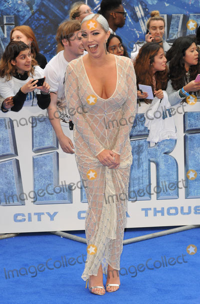 Aisleyne Horgan-Wallace, Aisleyne Horgan Wallace, Leicester Square Photo - London, UK.  240717.
