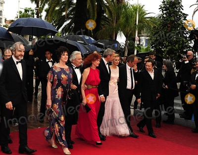 Alain Resnais, Anne Consigny, Lambert Wilson, Sabine Azema Photo - Cannes, France. Anne Duperey, Alain Resnais, Sabine Azema, Lambert Wilson, Anne Consigny and Jean-Louis Livi  arrive for the screening of 'Vous n'avez encore rien vu !' (You ain't seen nothing yet !) presented in competition at the 65th Cannes film festival. 21st May 2012.