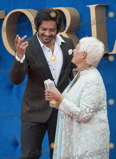 Judi Dench, Judy Dench, Ali Fazal, Gary Mitchell, Ali Farka Touré, Leicester Square Photo - London, UK. Ali Fazal and Judi Dench  at the 'Victoria & Abdul' UK premiere held at Odeon Leicester Square on September 5, 2017 in London, England.