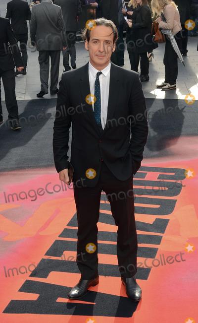 Alexandre Desplait, Leicester Square Photo - London, UK. Alexandre Desplait at 'Godzilla' European Premiere at the Odeon, Leicester Square, London on May 11th 2014.Ref: LMK392-48448-130514Vivienne Vincent/Landmark MediaWWW.LMKMEDIA.COM