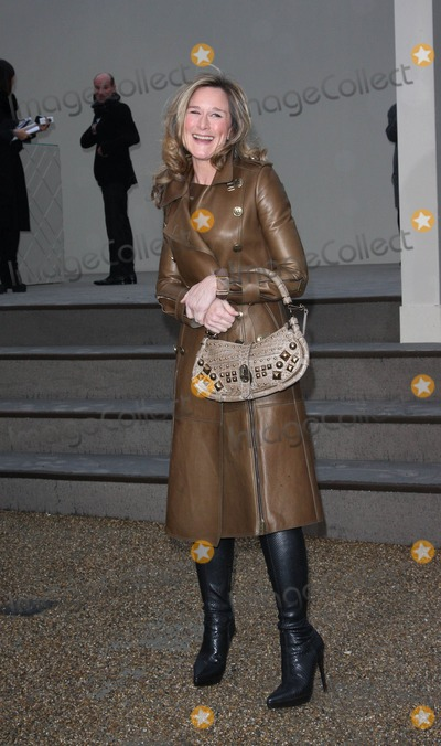 ANGELA AHRENDTS Photo - London, UK. Angela Ahrendts at the Burberry Prorsum LFW Autumn/Winter 2010 Women's wear show, held at the Parade Ground in Chelsea College of Art. 23rd February 2010.Keith Mayhew/Landmark Media .