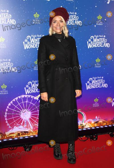 Holly Willoughby, Hollies Photo - London, UK. Holly Willoughby at Winter Wonderland 2019 VIP Launch at Hyde Park, London on November 20th 2019Ref: LMK73-J5836-211119Keith Mayhew/Landmark MediaWWW.LMKMEDIA.COM
