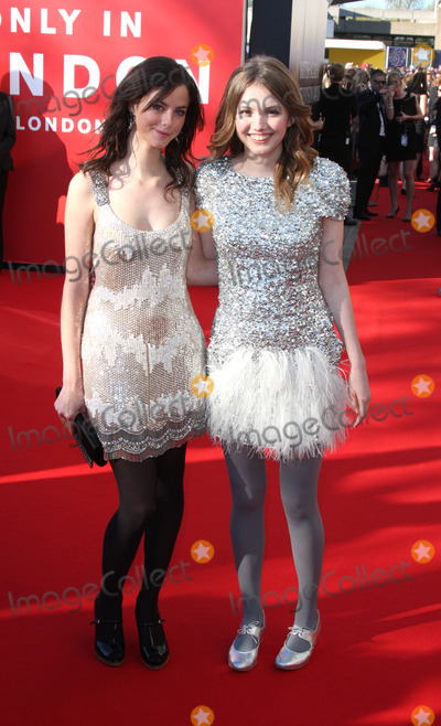 Hannah Murray, Kaya Scoderlario Photo - London.   Kaya Scoderlario and Hannah Murray at the BAFTA Television Awards held at the Royal Festival Hall. 26 April 2009. Keith Mayhew/Landmark Media.