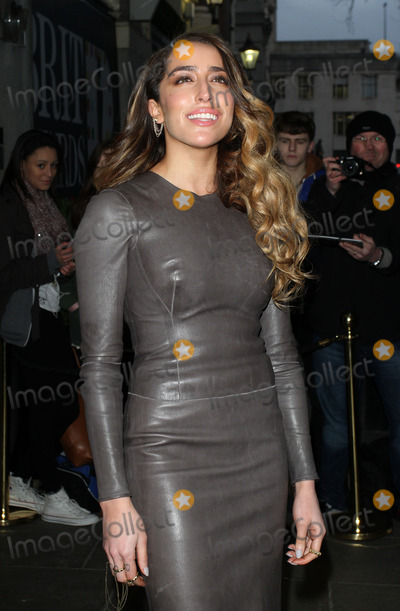 Photo - London, UK. Delilah arriving at the Brit Awards 2013 Nominations Launch at the Savoy Hotel, The Strand, London. January 10th 2013.