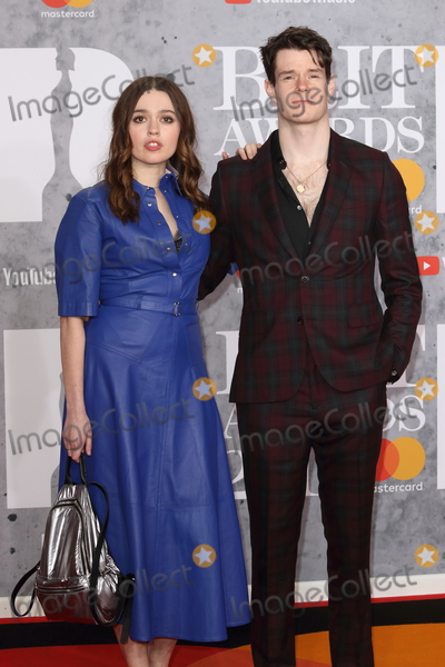 Connor Swindells, Anouk Aimé Photo - London.UK.  Aimee Lou Wood and Connor Swindells   at 