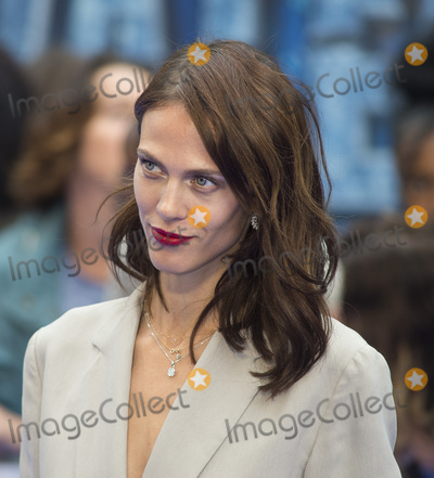 Aymeline Valade, Gary Mitchell Photo - London, UK. Aymeline Valade  at the 'Valerian And The City Of A Thousand Planets' European Premiere at Cineworld Leicester Square on July 24, 2017 in London, England. 