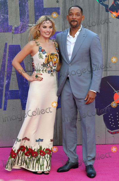 Will Smith, Margot Robbie Photo - London, UK. Will Smith and Margot Robbie at the European Premiere of 'Suicide Squad' at the Odeon Leicester Square, London on August 3rd 2016Ref: LMK73-60940-040816Keith Mayhew/Landmark MediaWWW.LMKMEDIA.COM