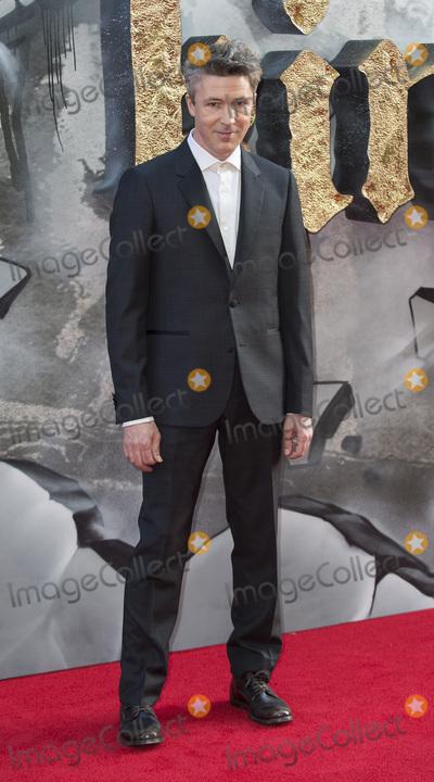 Aiden Gillen, The Sword, Gary Mitchell Photo - London, UK. Aiden Gillen at the European premiere of 'King Arthur: Legend of the Sword' at Cineworld Empire on May 10, 2017 in London, United Kingdom.Ref: LMK386-J285-110517Gary Mitchell/Landmark MediaWWW.LMKMEDIA.COM