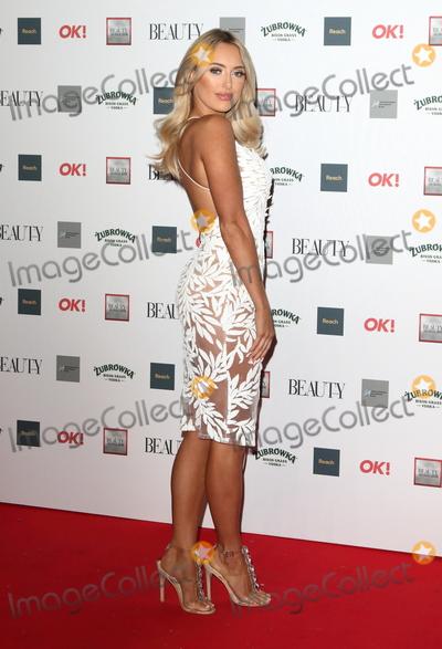 Amber Turner Photo - London. UK.  Amber Turner    at the The Beauty Awards with OK! at the Park Plaza Westminster Bridge, London on Monday 26 November 2018.Ref:LMK73-S1965-271118Keith Mayhew/Landmark MediaWWW.LMKMEDIA.COM