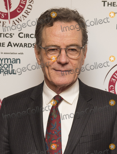 Bryan Cranston, Prince, Prince of Wales, Wale Photo - London, UK. Bryan Cranston attends the Critics' Circle Theatre Awards, Prince of Wales Theatre, London, UK - 30 Jan 2018