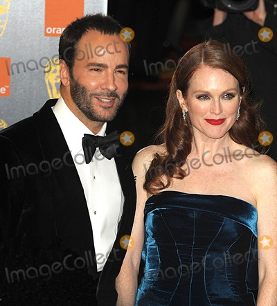 Julianne Moore, Tom Ford Photo - London, UK. Tom Ford and Julianne Moore at the Orange British Academy Film Awards held at the Royal Opera House in Covent Garden. 13 February 2011.Syd/Landmark Media
