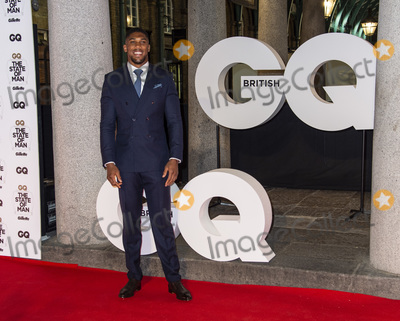 Anthony Joshua, Gary Mitchell Photo - London, UK. Anthony Joshua  at the GQ 30th anniversary party at SUSHISAMBA Covent Garden on October 29, 2018 in London, England.