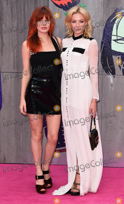 Georgia May Jagger, Clara Paget Photo - London, UK. Georgia May Jagger and Clara Paget at the European Premiere of 'Suicide Squad' at the Odeon Leicester Square, London on August 3rd 2016