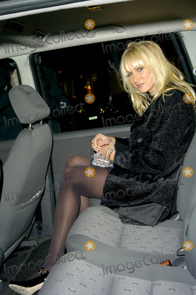 Photo - London. UK. Kimberley Stewart at the Sergio Rossi store launch on Sloane Street in London. 4th April 2007.