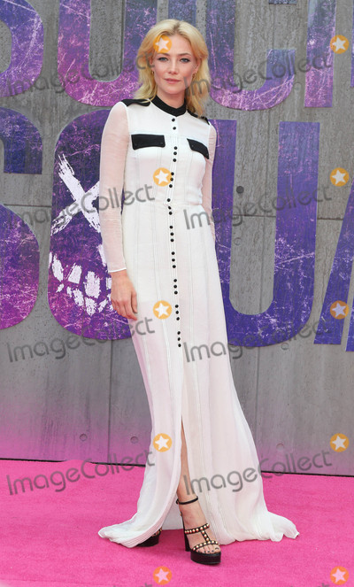 Clara Paget Photo - London, UK. Clara Paget at the European Premiere of 'Suicide Squad' at the Odeon Leicester Square, London on August 3rd 2016
