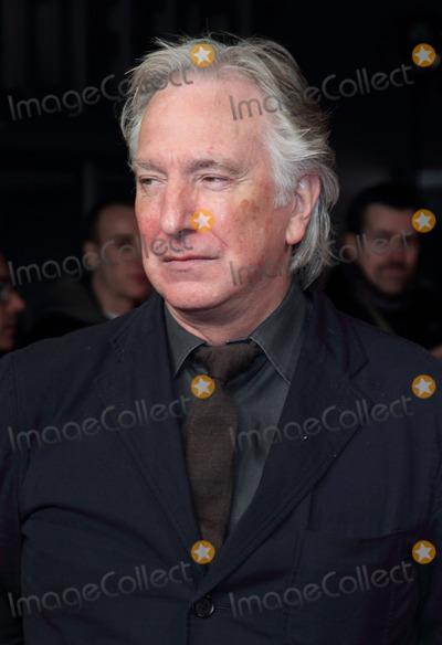 Alan Rickman Photo - London, UK.  270114..Alan Rickman at the UK Premiere of 'The Invisible Woman'  held at the Odeon, Kensington.27 January 2014..Ref: LMK73-46491-280814Keith Mayhew/Landmark MediaWWW.LMKMEDIA.COM