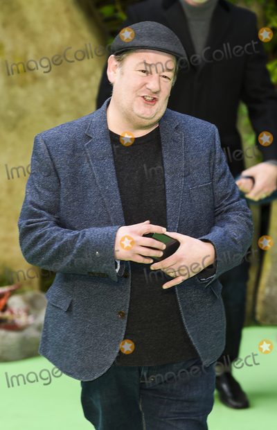 Johnny Vegas, Gary Mitchell Photo - London, England. 140118.