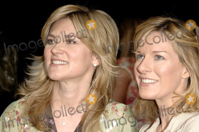 Andrea Catherwood, Anthea Turner Photo - London. UK. Anthea Turner and Andrea Catherwood attend launch of supermarket's bargain fashion line at debut catwalk show in central London. 24th April 2007.  Ali Kadinsky/Landmark Media.