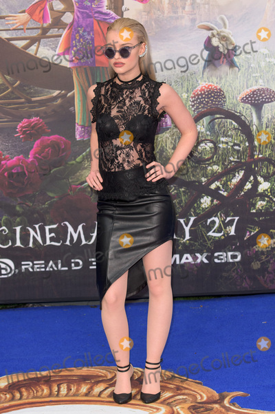 Alice Chater Photo - London. UK. Alice Chater at  The European Premiere of 'Alice Through The Looking Glass' at Leicester Square Garden, London, England, UK on Tuesday 10 May 2016 Ref: LMK370-22697-071010 Justin Ng/Landmark MediaWWW.LMKMEDIA.COM