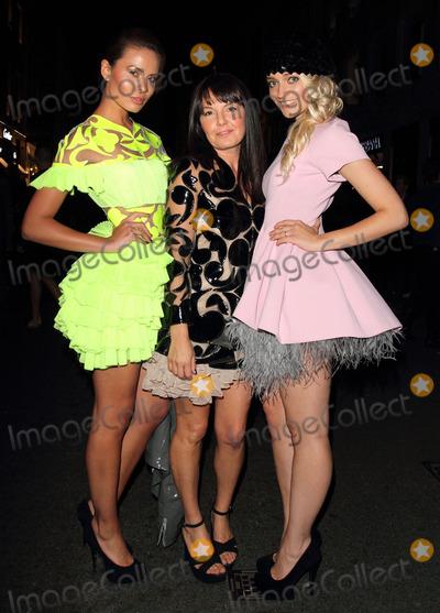 Photo - London UK. Nataliya Kaut at Fashions Night Out - Tod's Party at Tod's Boutique, Old Bond Street, London. 6th September  2012.Keith Mayhew/Landmark Media