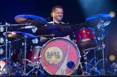 Andy Williams, Doves Photo - London, England, UK. Drummer Andy Williams  of  English rock band Doves performs at Somerset House, London, England. 16th July 2019. Ref: LMK370-J5201-170719Justin Ng/Landmark MediaWWW.LMKMEDIA.COM