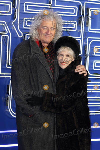 Anita Dobson, Brian May, Leicester Square Photo - London, UK. Brian May and Anita Dobson at Ready Player One - European film premiere at the Vue West End, Leicester Square, London on Monday 19 March 2018.Ref: LMK73-J1757-200318Keith Mayhew/Landmark MediaWWW.LMKMEDIA.COM