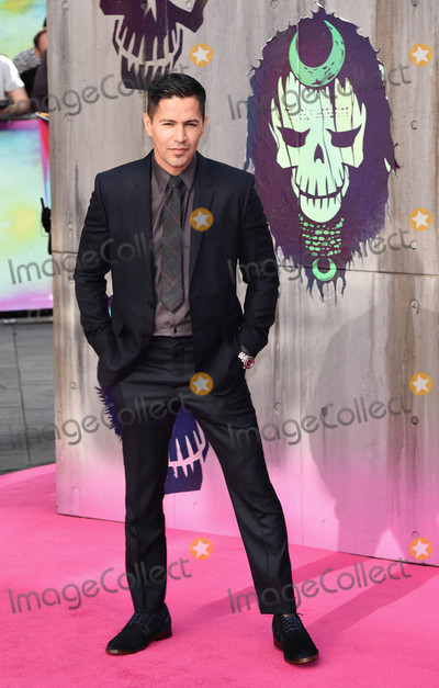 Jay Hernandez Photo - London, UK. Jay Hernandez at the European Premiere of 'Suicide Squad' at the Odeon Leicester Square, London on August 3rd 2016