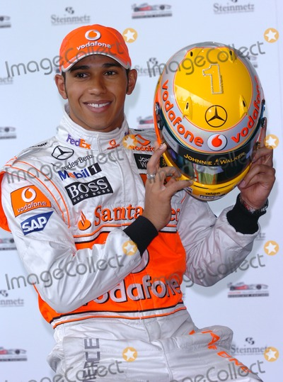 Lewis Hamilton Photo - London.UK. British Grand Prix driver and 2008 champion Lewis Hamilton launches a specially commissioned helmet. It has been inlaid with diamonds provided by the Forever Diamonds company and will be worn at Monaco Grand Prix on the 24th May 2009.Andy Lomax/Landmark Media