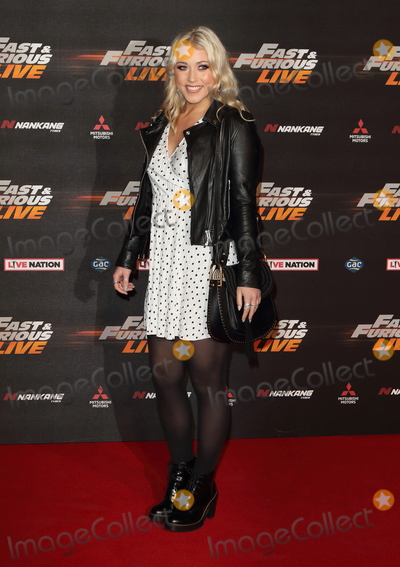 Amelia Lily Photo - London.UK. Amelia Lily  at the Fast and Furious Live Global Premiere at the 02 Arena, Peninsula Square. 19th January 2018.  Ref:LMK73-S1076-200118
