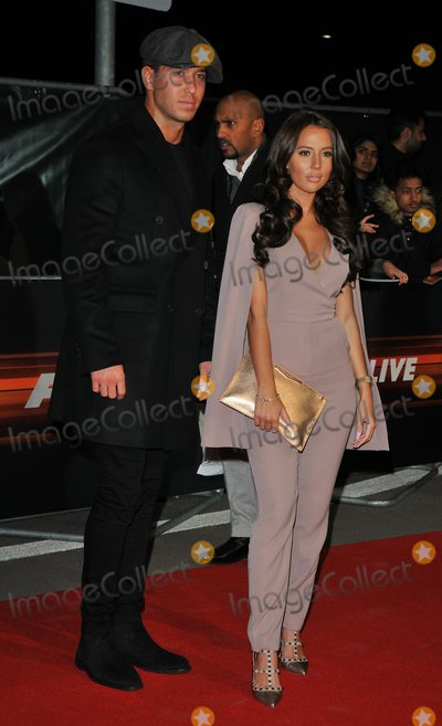 James Locke, Yazmin Oukhellou, James Lock Photo - London.UK.  James Locke and Yazmin Oukhellou    at the Fast and Furious Live Global Premiere at the 02 Arena, Peninsula Square. 19th January 2018.  Ref:LMK315-S1077-200118