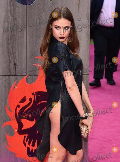 Xenia Tchoumitcheva Photo - London, UK. Xenia Tchoumitcheva  at the European Premiere of 'Suicide Squad' at the Odeon Leicester Square, London on August 3rd 2016