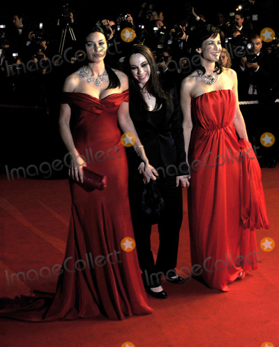 Marina De Van, Monica Bellucci, Sophie Marceau, Anna Maria Perez de Taglé, Hüsker Dü, Isaach De Bankolé Photo - Cannes. France . Monica Bellucci, Director Marina De Van and Sophie Marceau  at the Cannes Film Festival premiere of 'Don't Look Back'.  16th May 2009. 